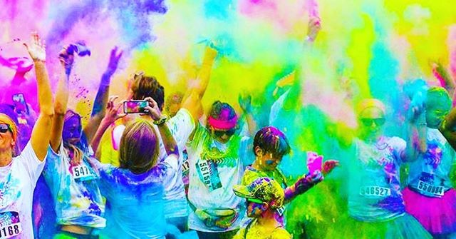 FREE color run tonight at ALCC! 7-8:30 with snow cones, prizes, dance music and more! Bring your friends!