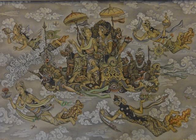 Painting at ARMA Museum, Ubud, Bali