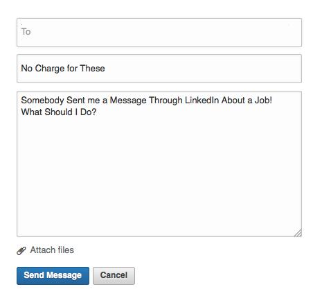 InMail Screen Shot