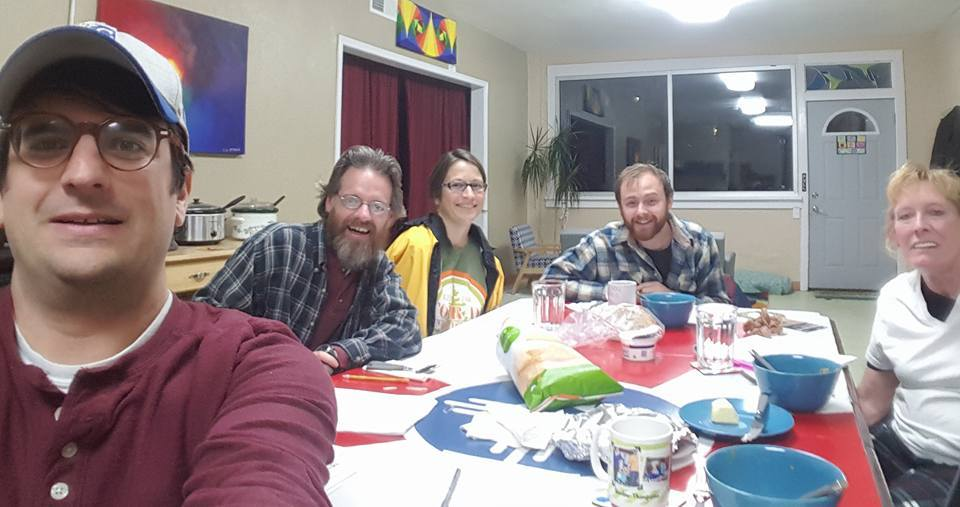 Our first Block Connector gathering in December was great!