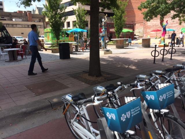 ICT Pop-Up Urban Park (feat. ICT Bike Share)