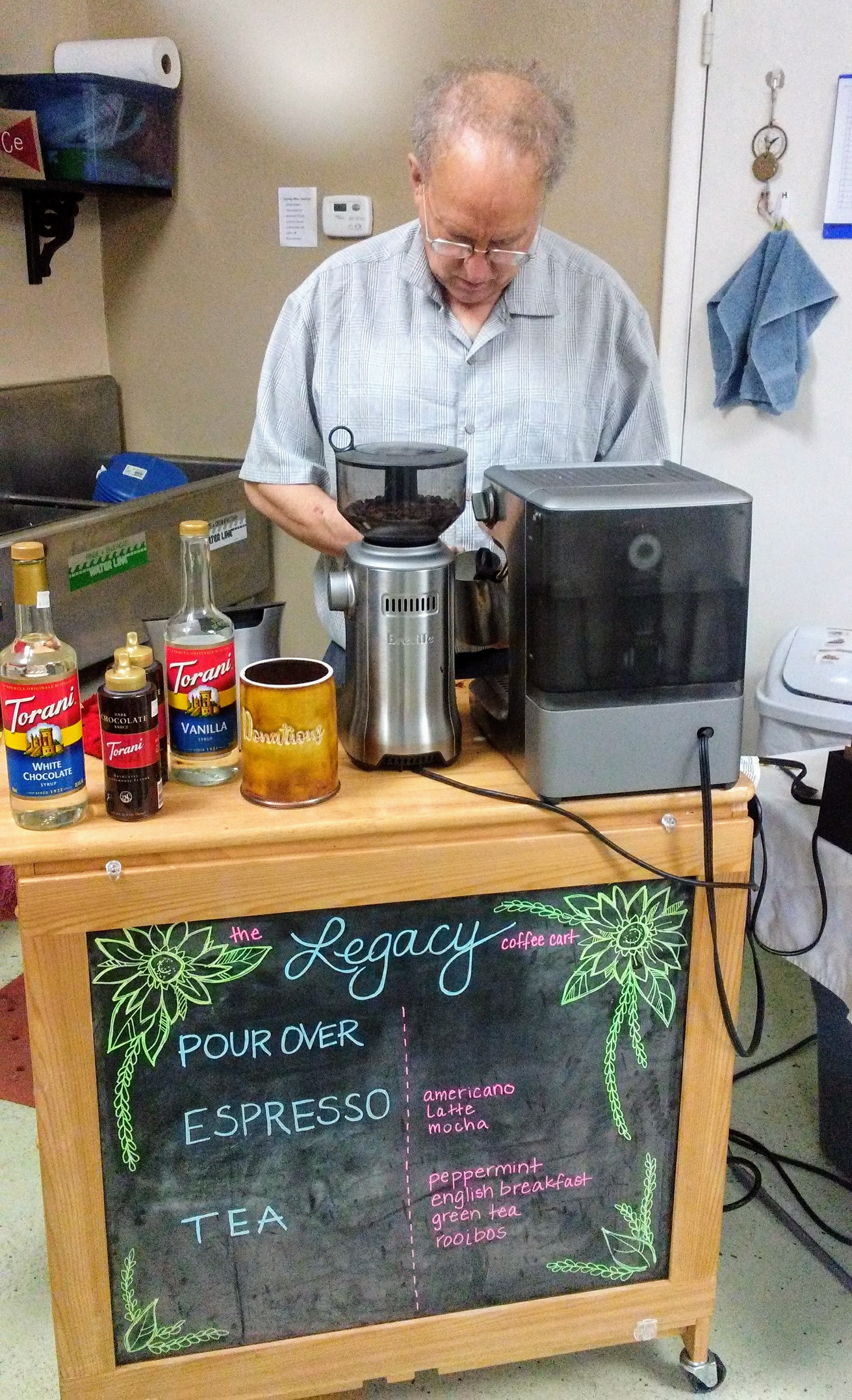 If you ever get the chance to experience the Legacy Ministries Coffee Cart--Don't pass it up!!