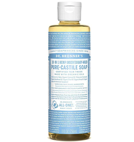 Dr. Bronner's - Pure-Castille Soap