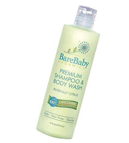 BareBaby Organics - Shampoo & Body Wash