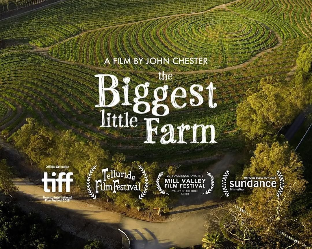 - Outdoor Film Screening & Discussion: The Biggest Little Farm | Sponsored by General MillsWednesday, Sept 11: 6:00 pm - 8:00 pmRoom: Hilton, Eutaw Street