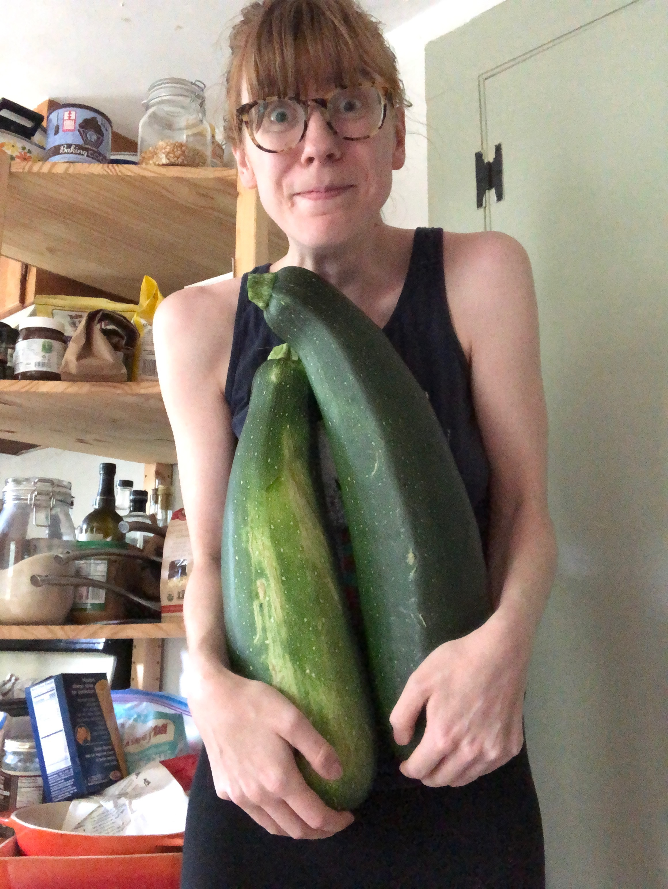 "It's like that scene in Dirty Dancing. ""I carried the zucchini."""