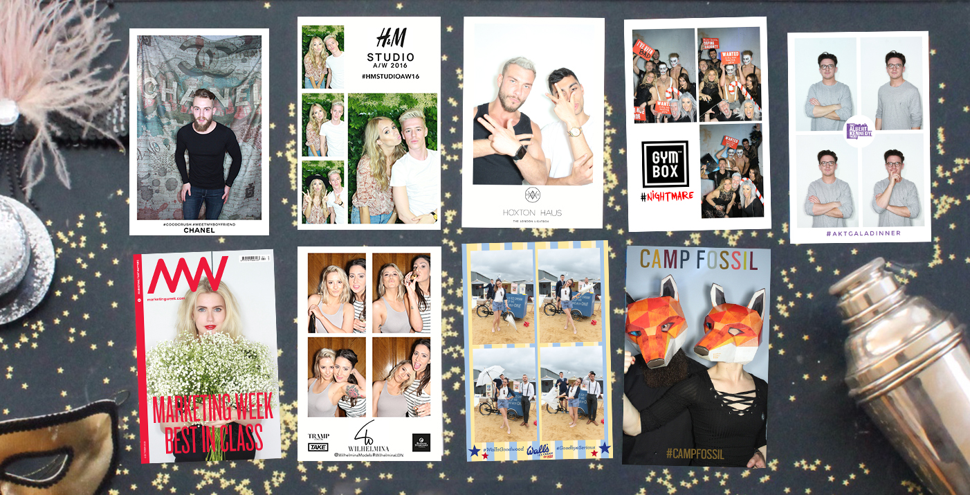 The London Lightbox Photo Booth Photos and Gifs Printed Banded Corporate Events