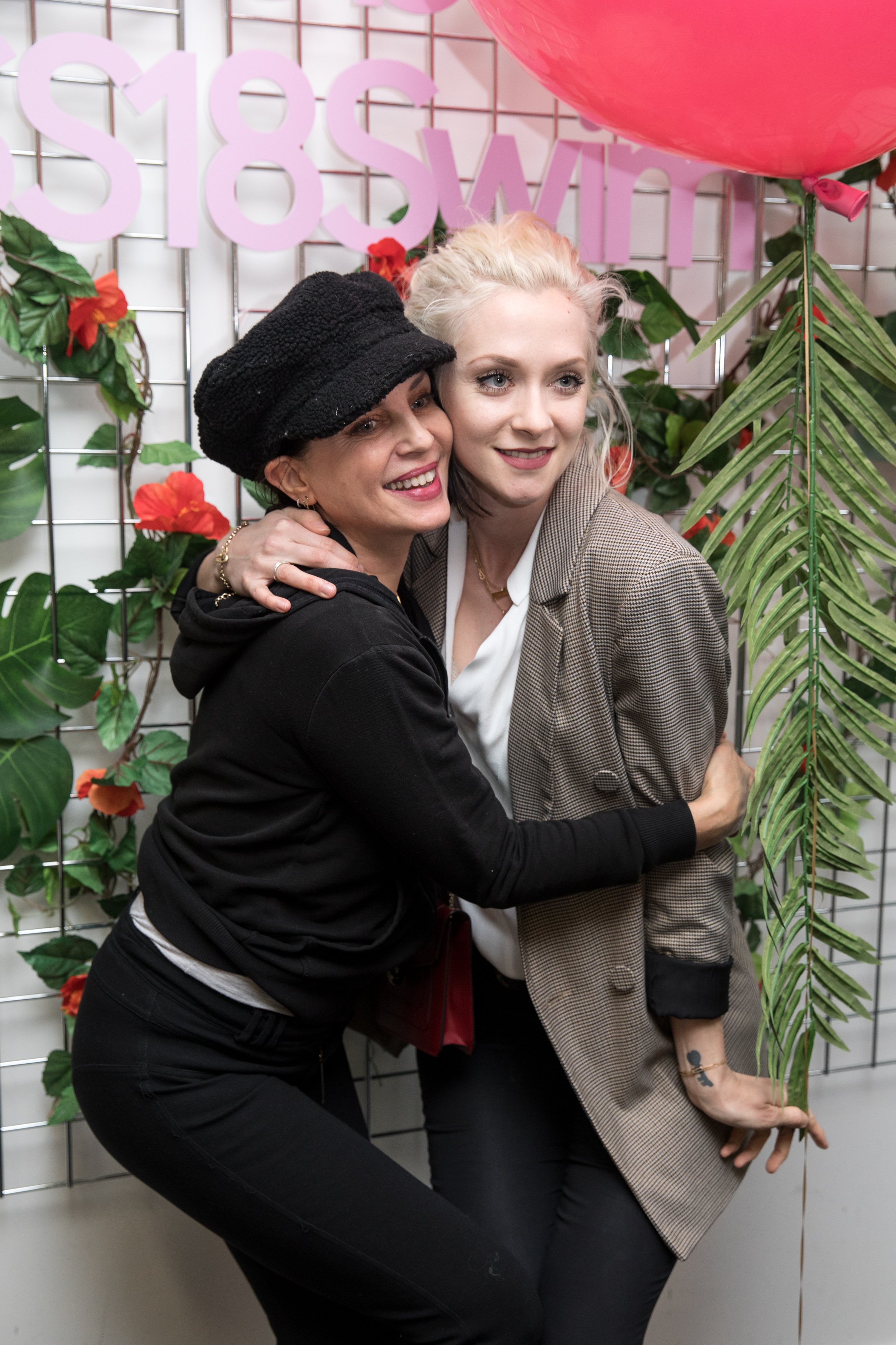 Sadie Frost and model Portia Freeman