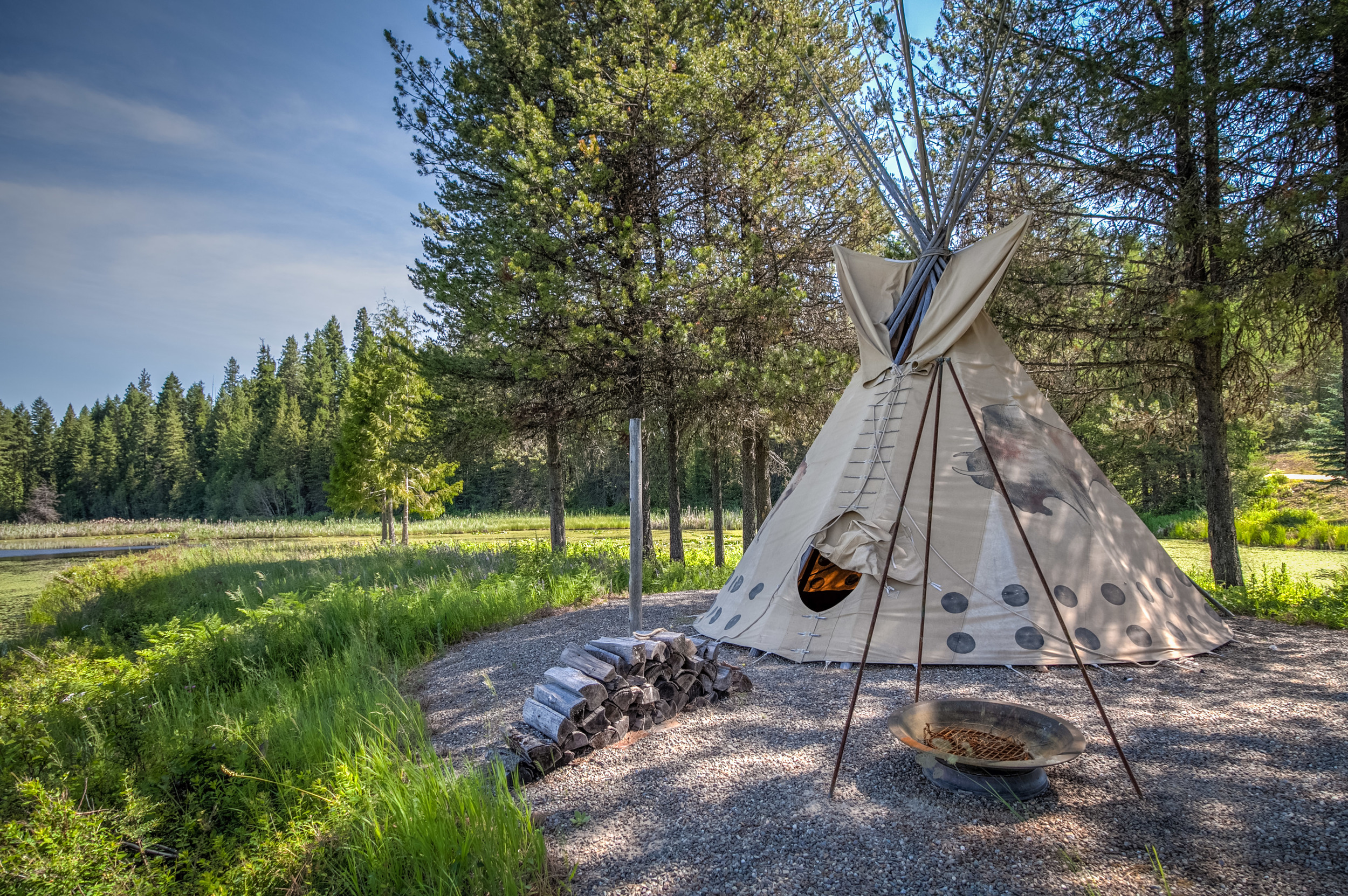 Buck Quarter Tepee