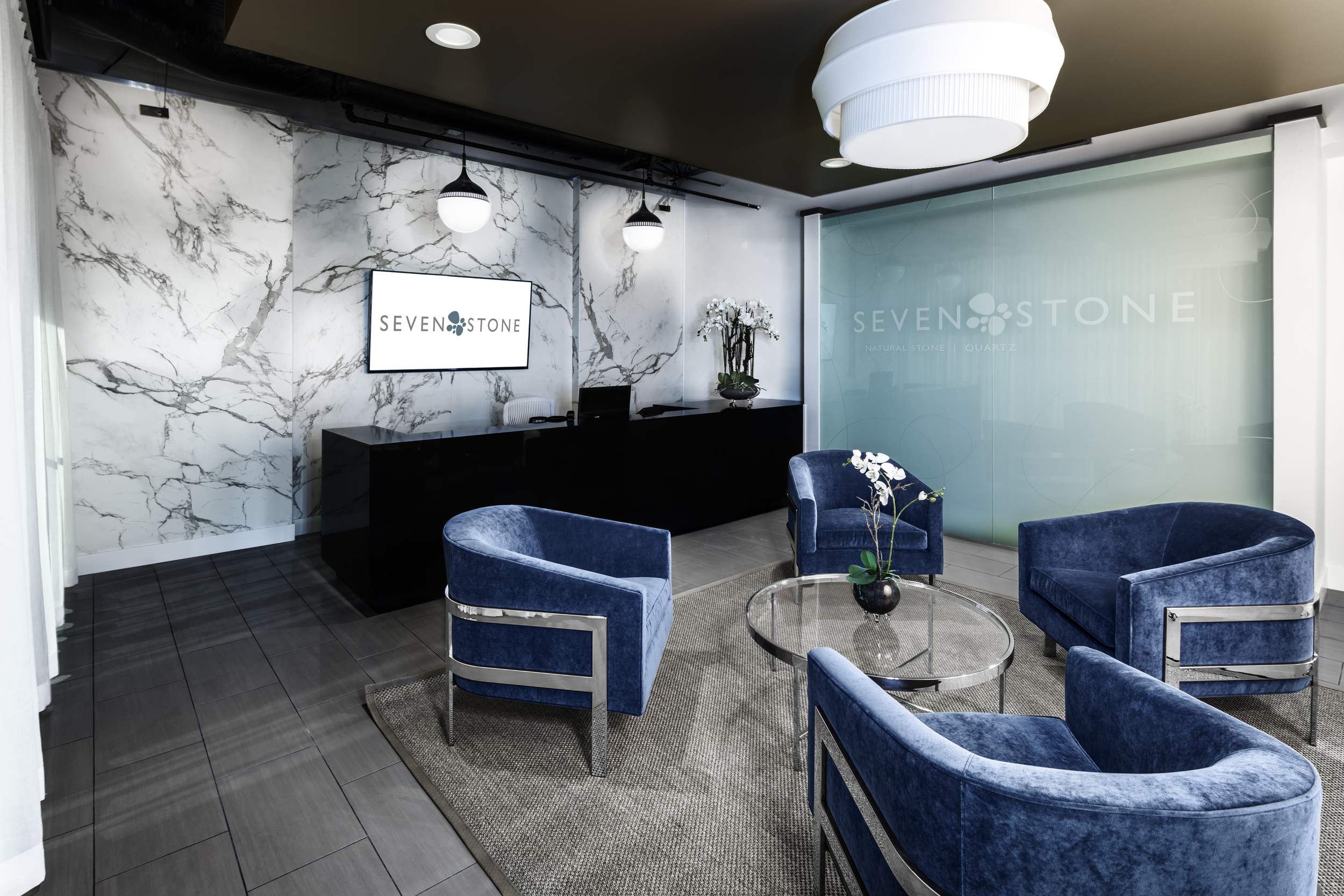 Seven Stone Corportate HQ Lobby in Atlanta, GA
