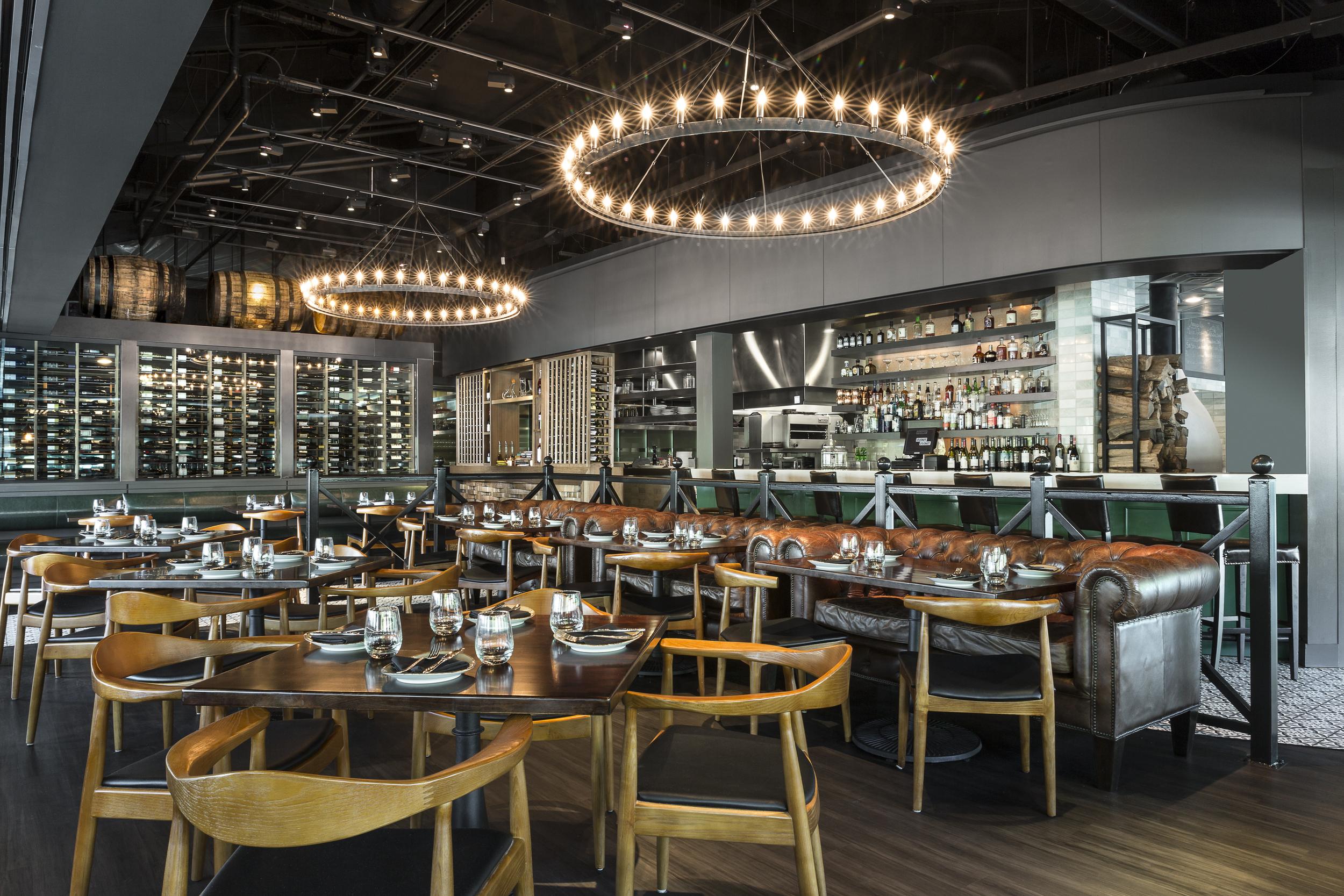 Under the Cork Tree Restaurant in Atlanta, GA for Red Door Design Studio