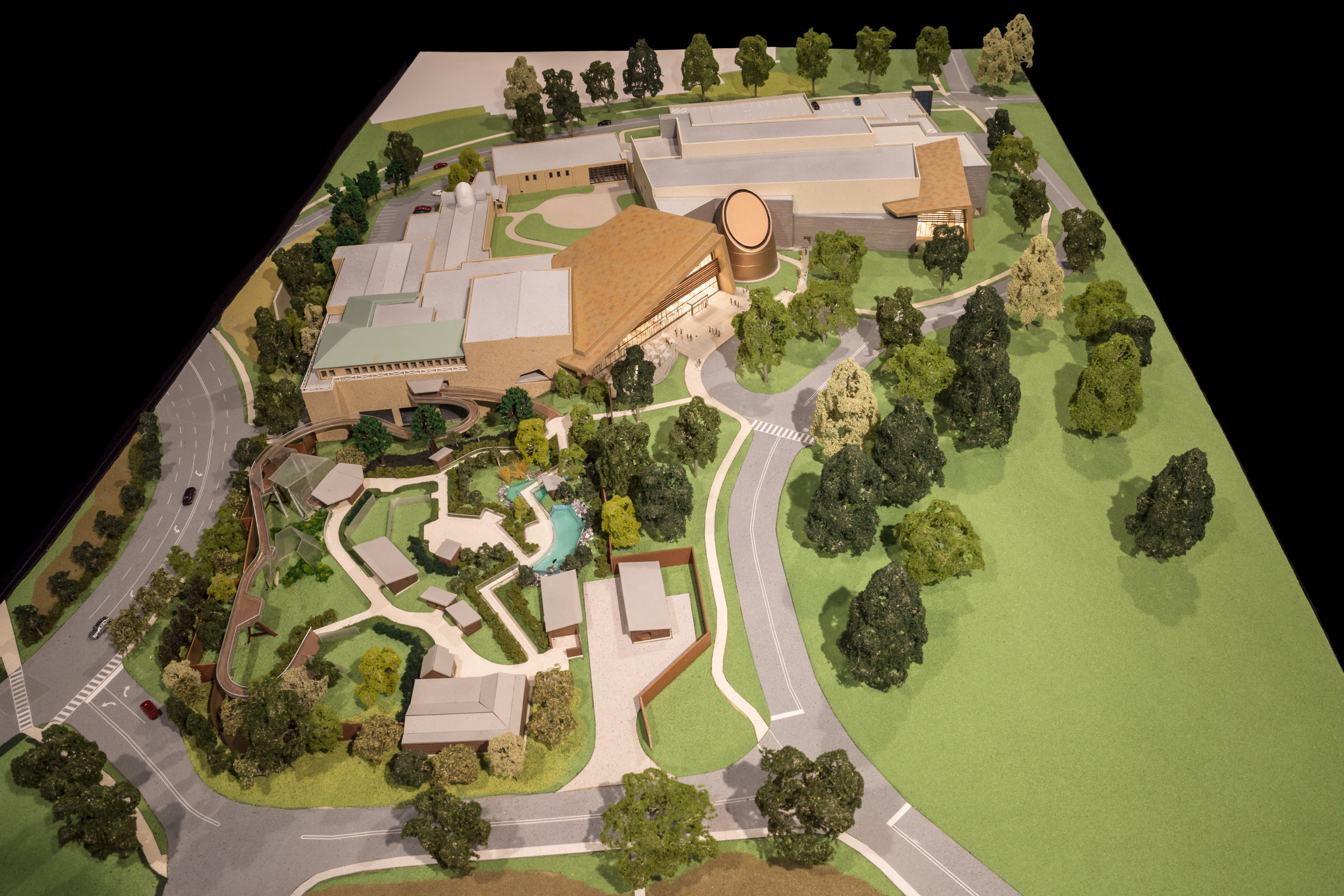 3-D Architectural Model of the Cleveland Museum of Natural History for RMI Designs
