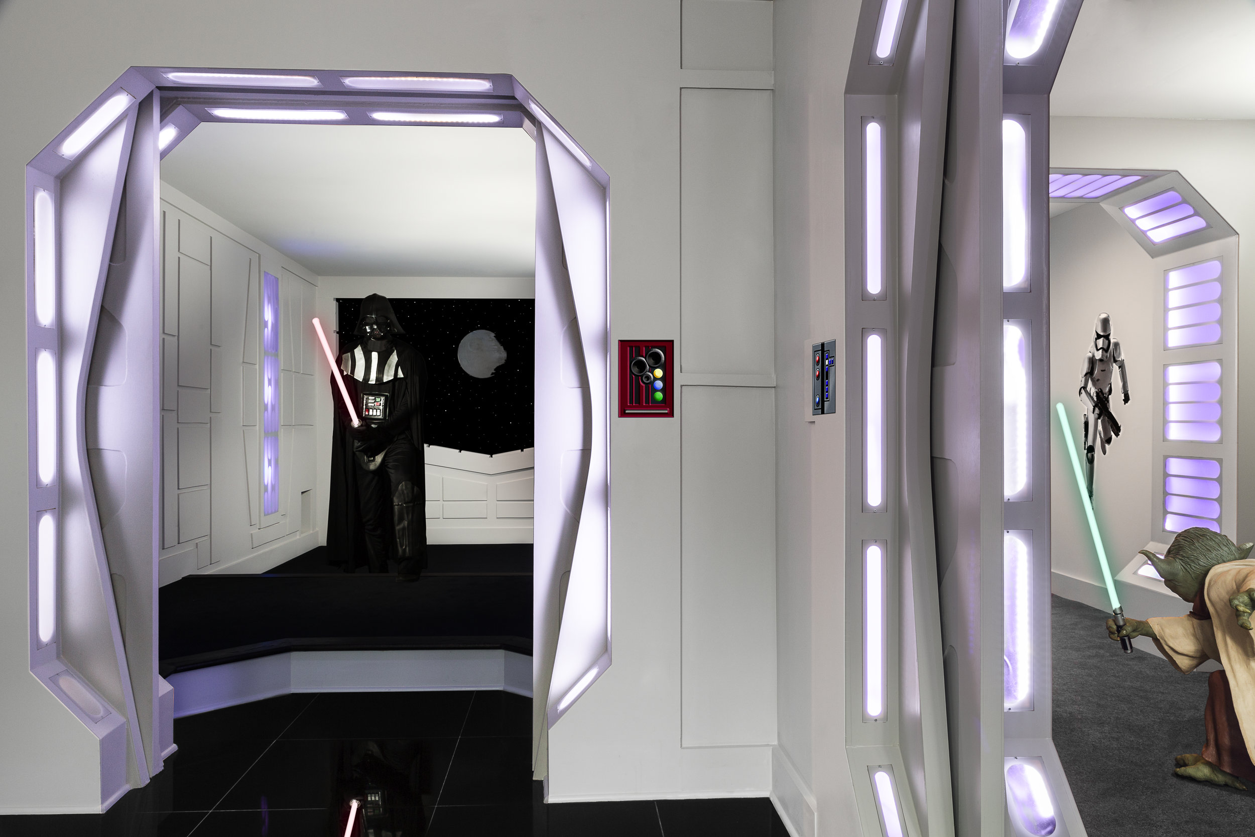 Death Star Basement Remodel
