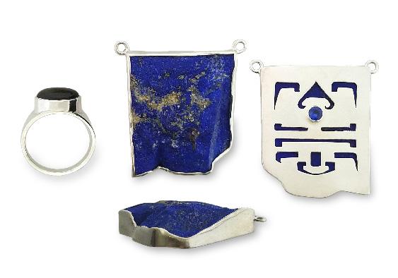 Ring;pendant- front, side & back