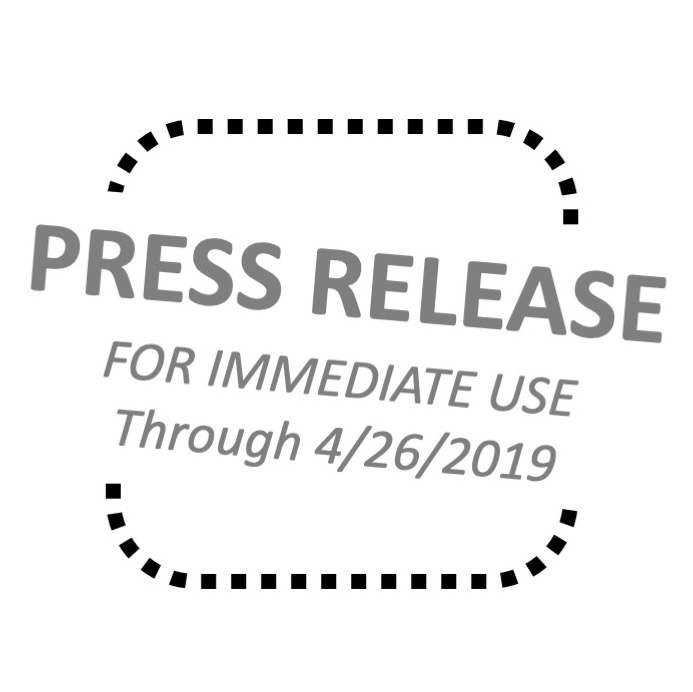 Copy of Press Release - HERE!
