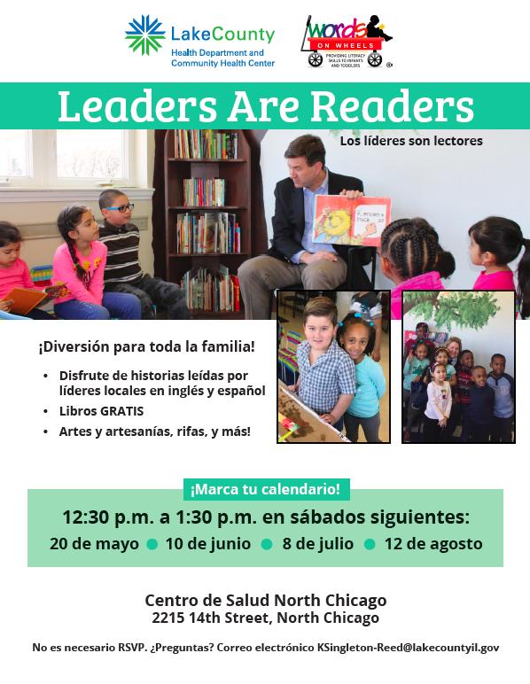 Leaders are Readers Spanish