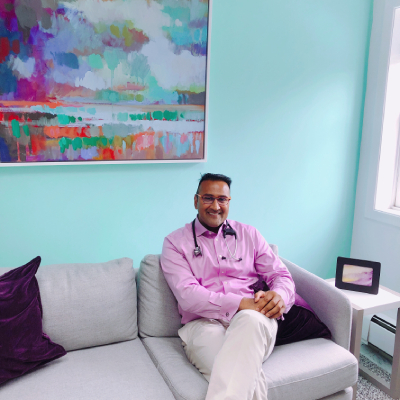 Dr. Gupta at  Rivertowns Pediatrics