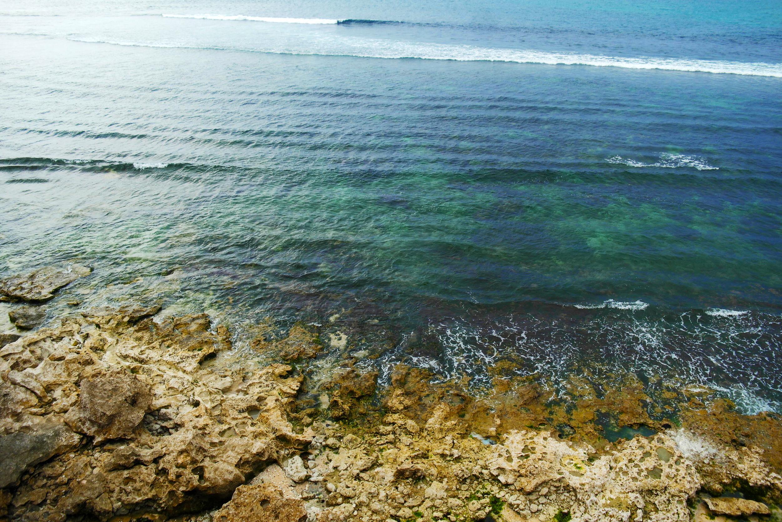 View of Bingin above the Cliffs of Uluwatu