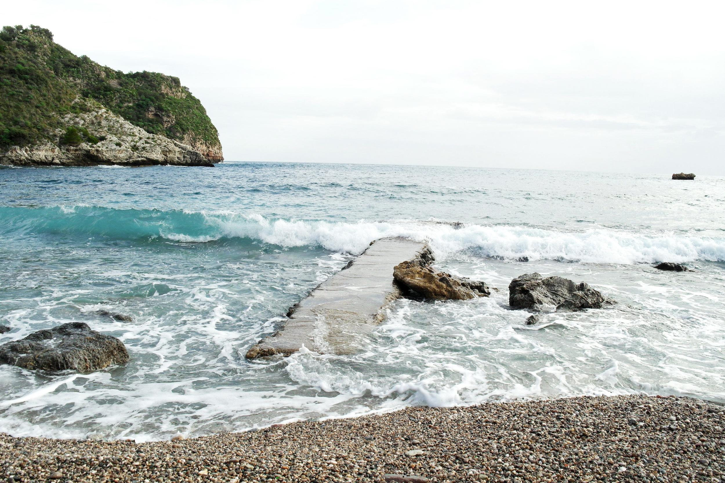 Somewhere in Taormina, Sicily.