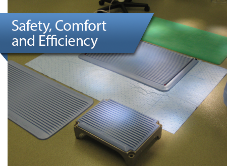 Safety, Comfort and Efficiency