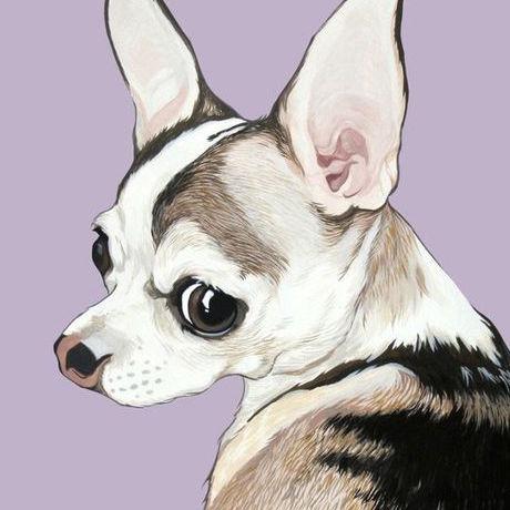 Custom Pop Dog Art by Art By Manda