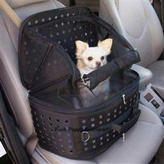 The Ultimate Pet Travel Carrier from Posh Puppy Boutique