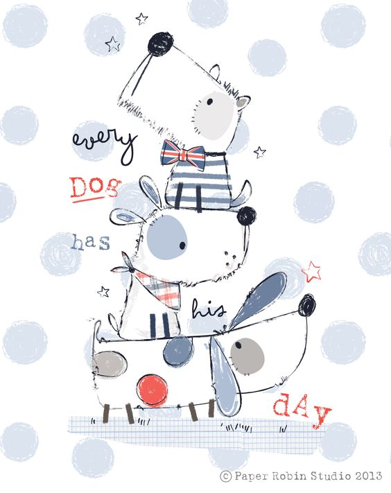 Every Dog Has His Day - Typography