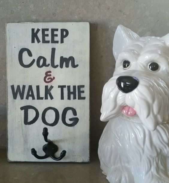 Keep Calm & Walk the Dog - Typography Westie