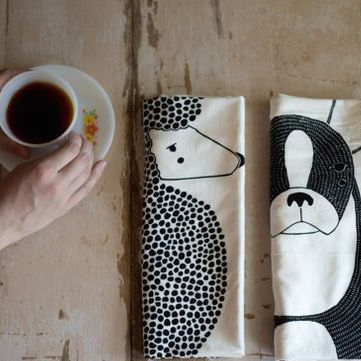 Dog Tea Towel Bundle, Dog Dishcloths, Dog Kitchen Towels, Home Essentials, Gifts For Animal Lovers, Gifts for Her, Gifts For Dog Lovers from Gingiber