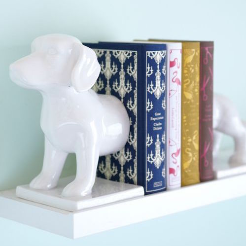 Plot Dog Bookends from Modcloth