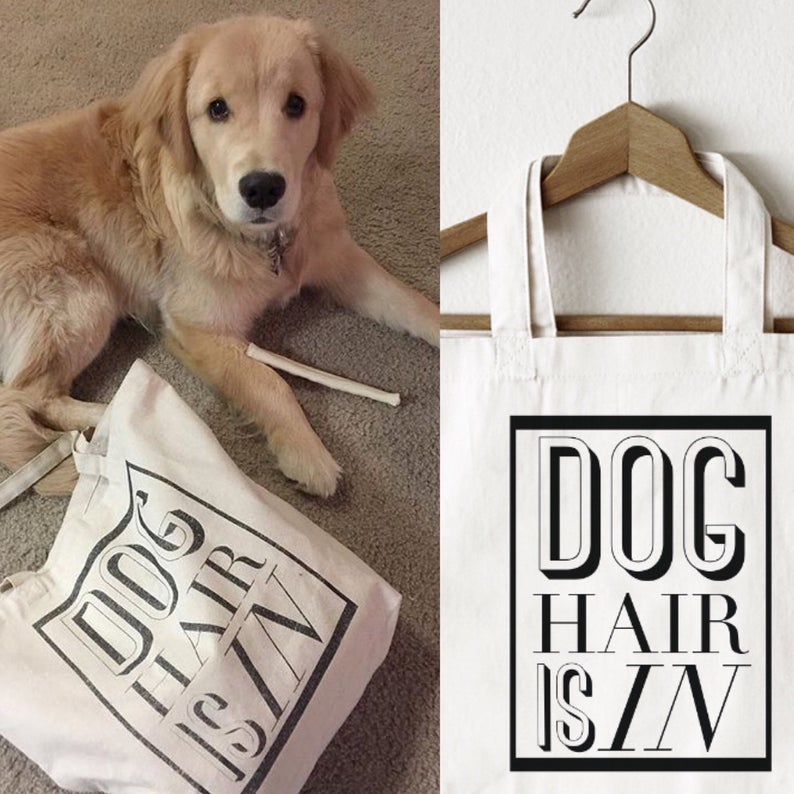 Dog Hair Is In Tote Bag By Barkley & Wagz