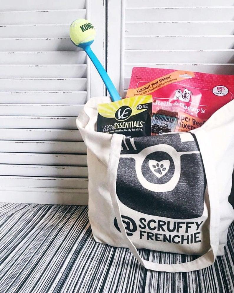Personalized Instagram Dogstagram Tote Bag IG By Barkley & Wagz