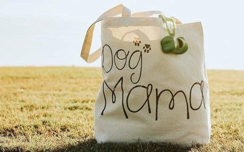 Dog Mama Tote Bag By Barkley & Wagz