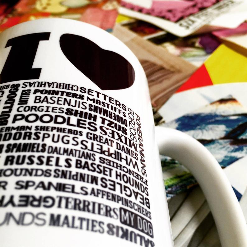 I Love Dogs Mug By Barkley & Wagz