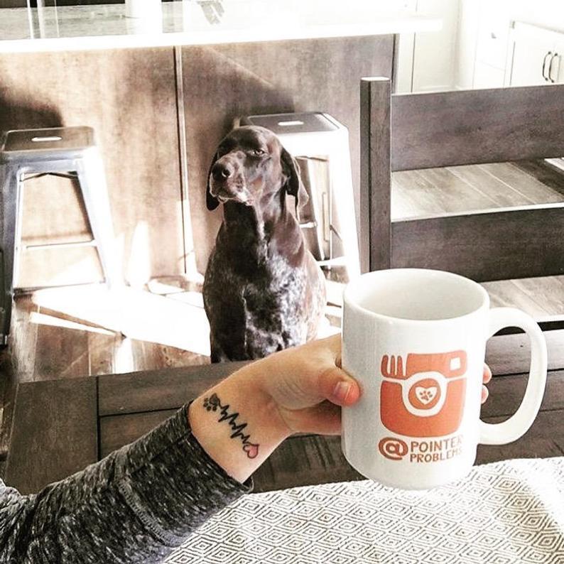 Dogstagram Instagram Mug By Barkley & Wagz