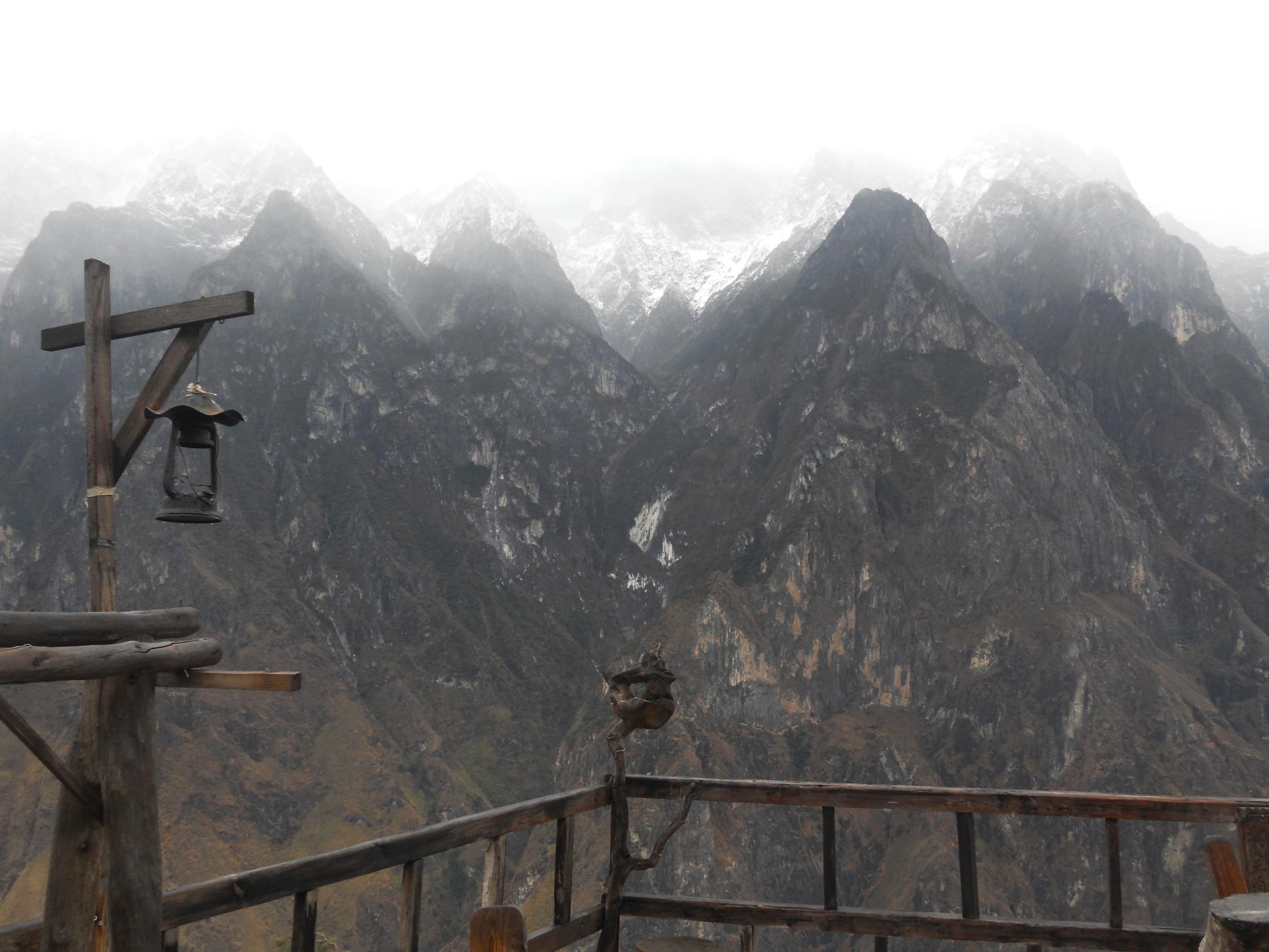 Snow in Yunnan
