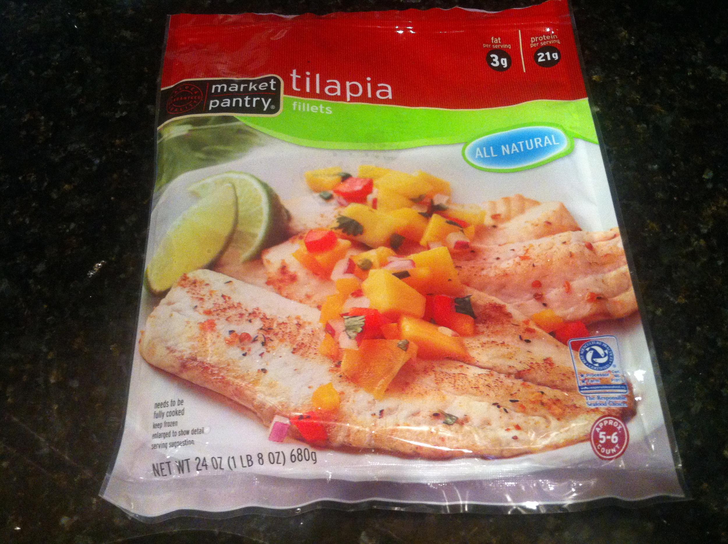 Market Pantry Tilapia Filets
