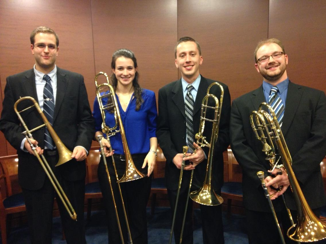 Hendrie's Heroes Trombone Quartet