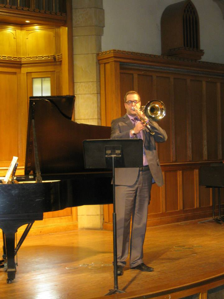 MM Solo Recital at Yale School of Music