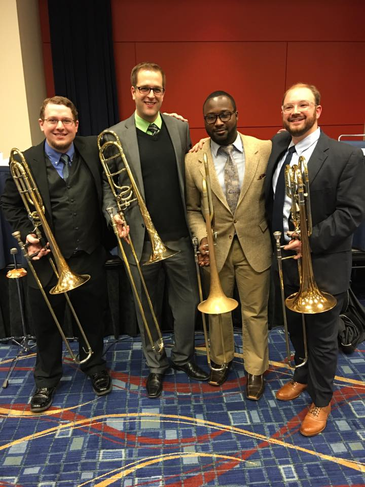 After a successful Midwest Clinic with the Seminole Trombone Quartet