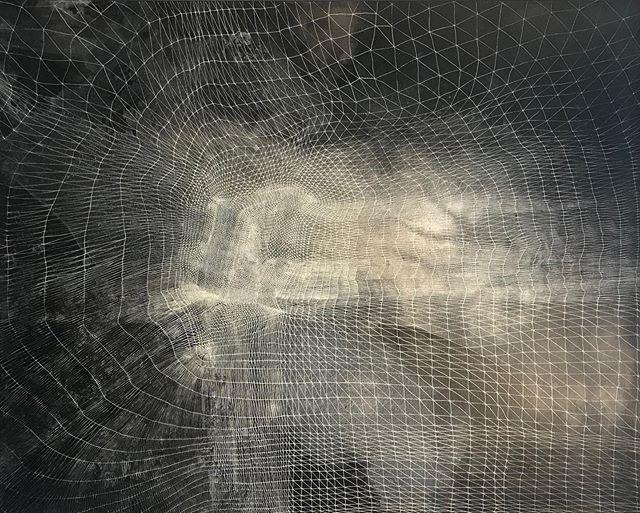 Into the vortex ... 🌌 discovered @theotherartfair  The Illusion of Power, Adam Zoltowski