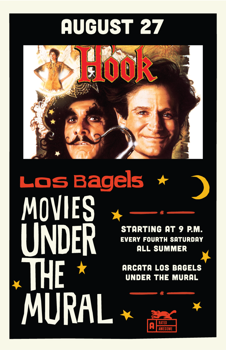 Movies Under The Mural: Hook