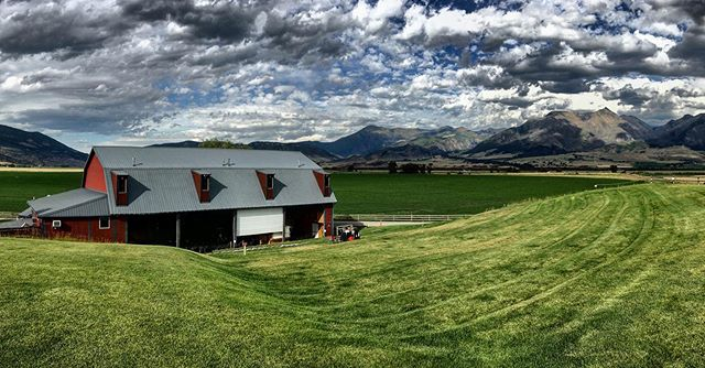Was an epically gorgeous day to have the privilege to play at the wonderful Music Ranch Montana in Livingston MT. #musicranchmontana #montana #livingstonmontana