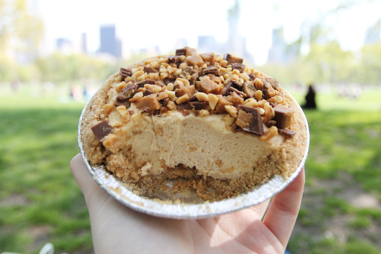 Peanut Butter Icebox Pie from Magnolia Bakery
