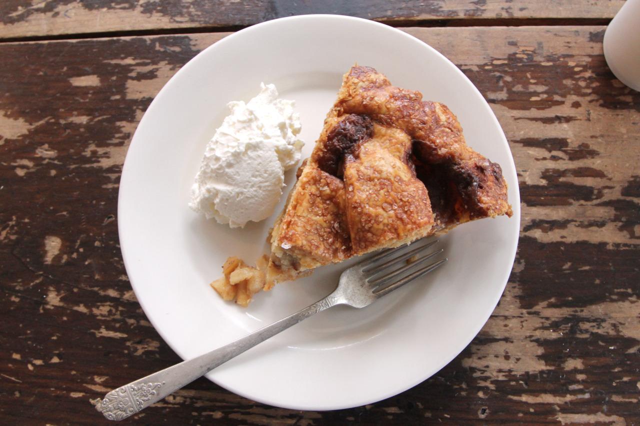 Salted Caramel Apple Pie from Four & Twenty Blackbirds
