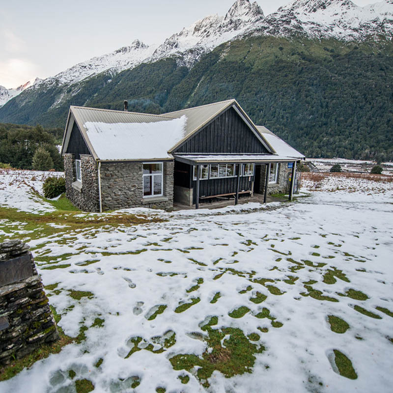 Read about AAC member Gabe DeWitt's experience staying in the New Zealand Huts