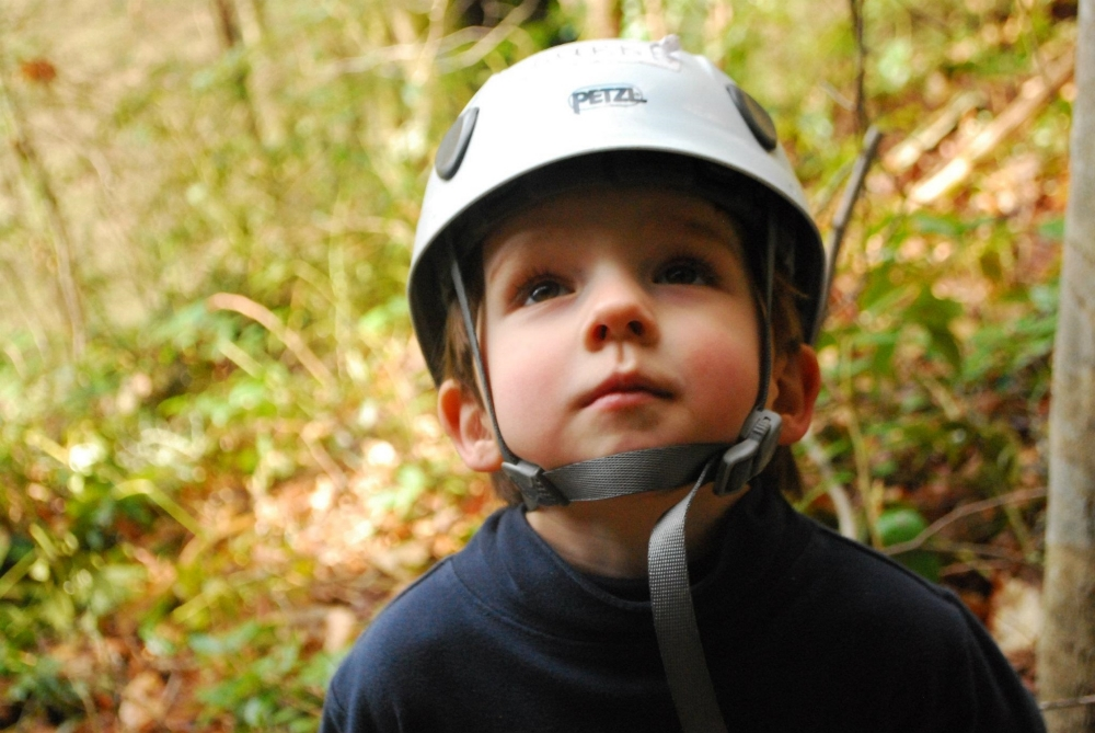 The next generation climbing on our public lands. Photo credit: AAC's Ron Funderburke