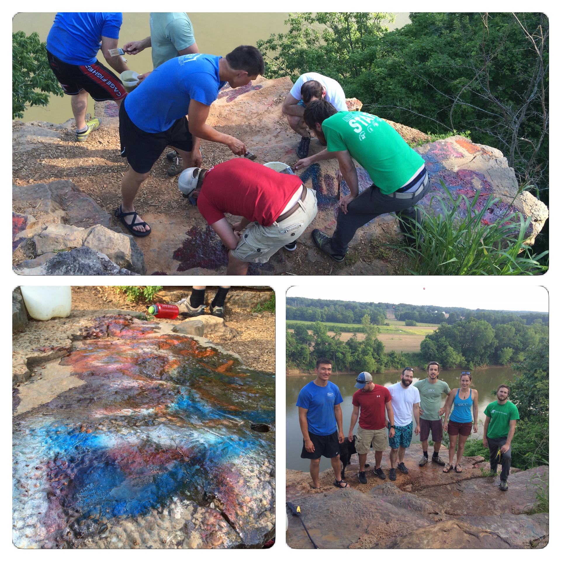 Copy of Kings Bluff graffiti removal- 5-24-16 023 (1).JPG