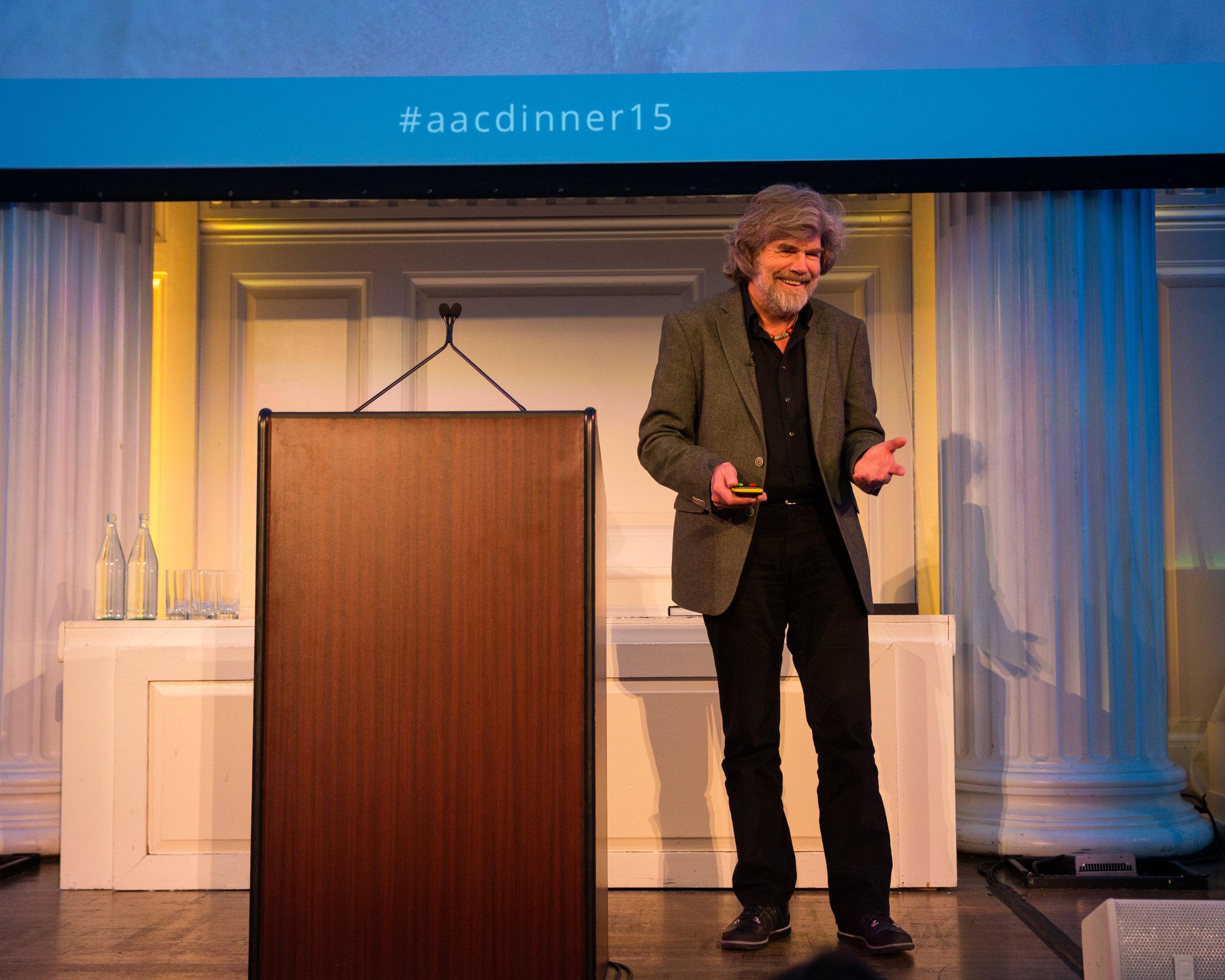 Honorary member Reinhold Messner