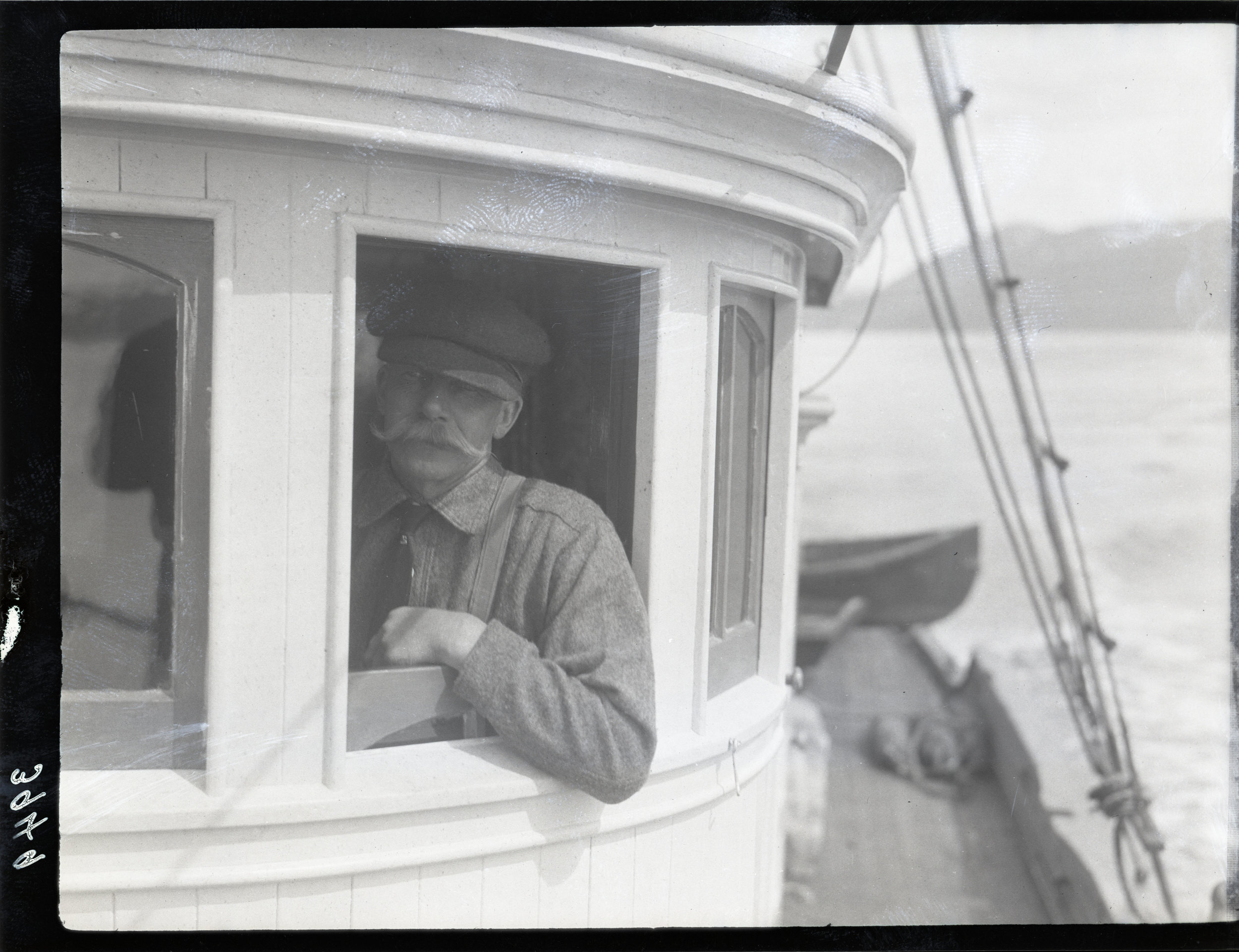 Mustaches have adorned the faces of terrestrial and nautical explorers for centuries. Many sailors have stated that a good mustache can enhance dead reckoning abilities; while others when sporting a full mustache felt so confident that they wouldn't even bother to bring their sextant along for the voyage.